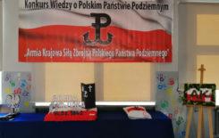 """Więcej o: Konkurs historyczny – ,,Armia Krajowa siłą zbrojną Polskiego Państwa Podziemnego"""""""